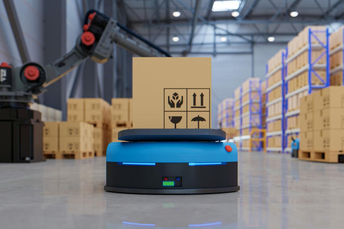 AGV and Robot