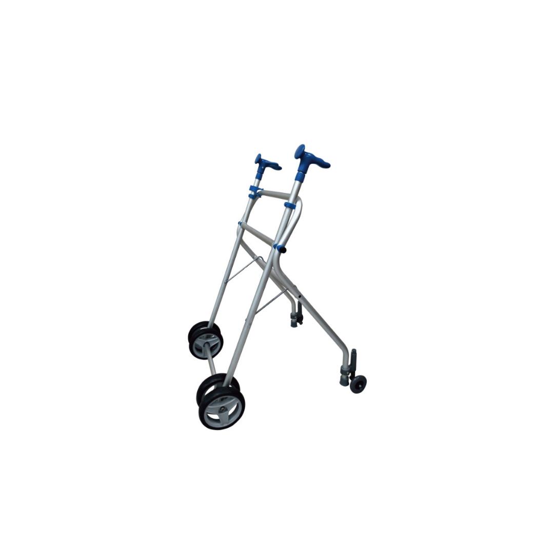 Aluminum Walker with brakes