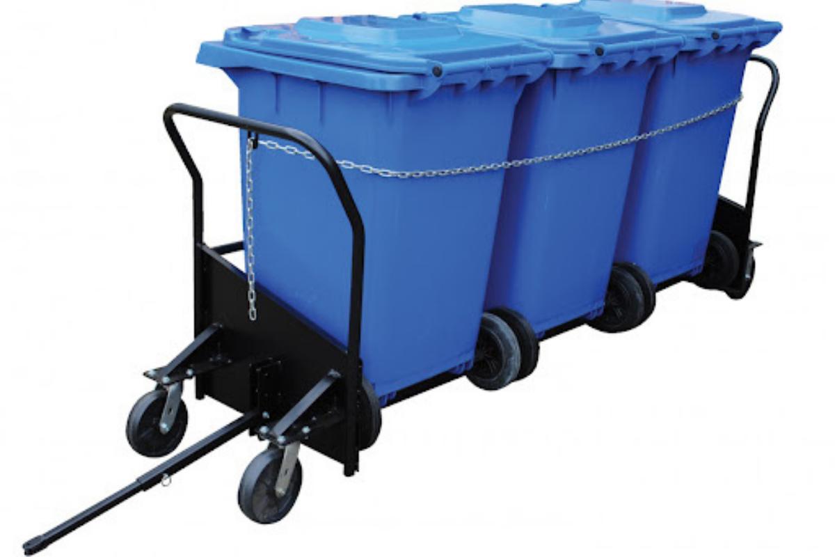 Power Trash Cart